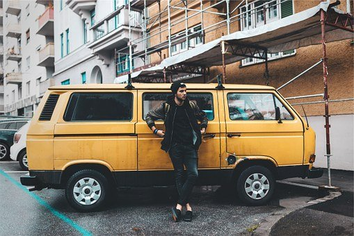 Yellow, Van, Young, Guy, Hat, Toque, Beanie, Jacket