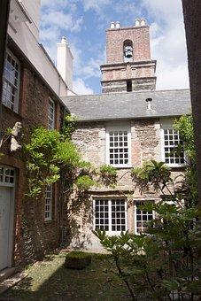 Manor House, Bell Tower, Saltram House, Courtyard