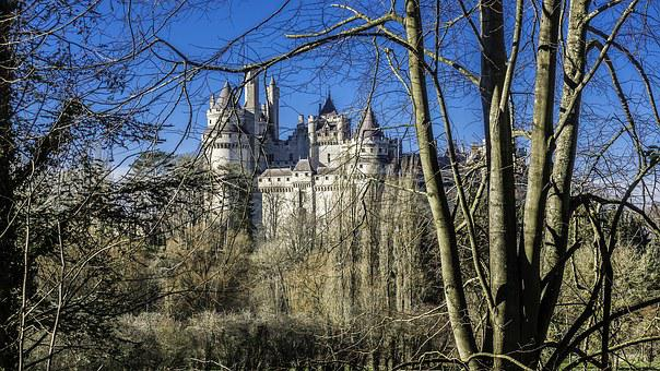 Castle Of Pierrefonds, Medieval, Middle Ages
