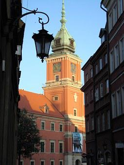 Warsaw, Poland, Royal Castle, Monument, Architecture