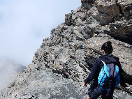 Rocciamelone, Mountain, Alps, Trail, Trekking