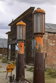 Bodie, Gold Rush, Gold, Old Town, Wooden Buildings