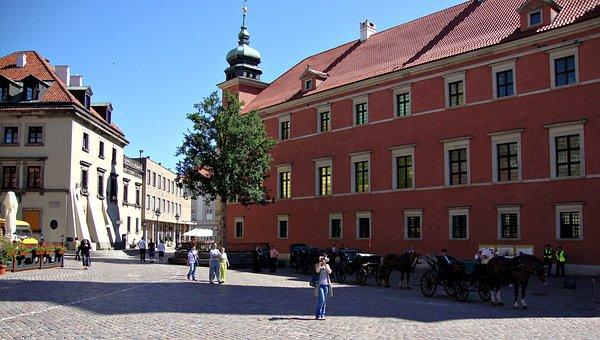 Warsaw, Poland, Architecture, Monument, Tourism