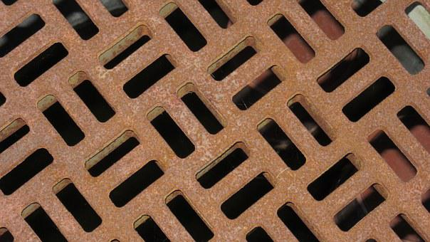 Stainless, Manhole Cover, Squares, Rectangles