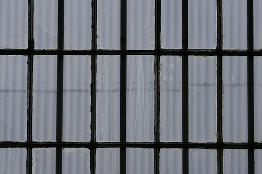Window, Glass, Panes, Frame, Rectangles, Rows
