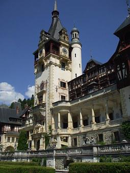 Peles, Palace, Castle, Sinaia, Romania, Royal, Tower