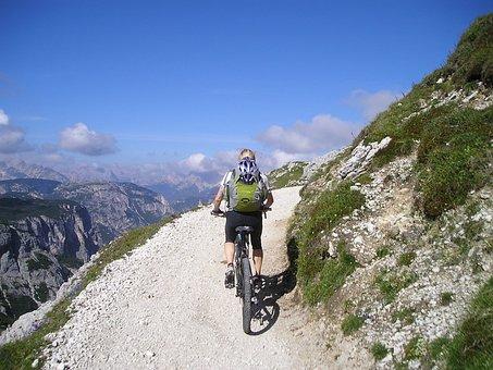 Mountain Bike, Bike, Transalp, Woman, Sporty, Sport
