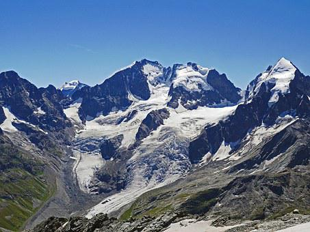 Bernina Alps, Summit, Glacier, Four Thousands