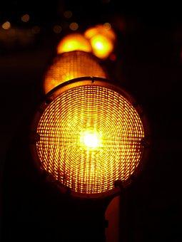Warning Lights, Warnblinkleuchte, Light Source, Road