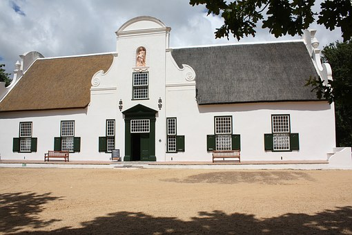 South Africa, Winery, Manor House, Winelands, Tourism
