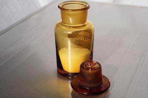 Bottle, Medical, Pharmacy, Mislabelling, Arsenic, Acid