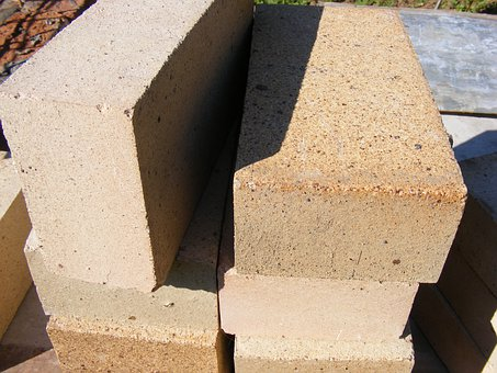 Bricks, Chamotte, Fireclay, Furnaces, Refractory