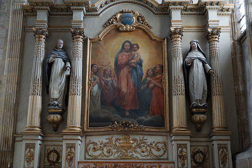 Church, Catholic, France, Le Havre, Religion, Maria