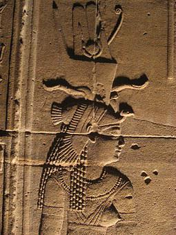 Temple Of Isis, Philae Island, Aswan, Egypt, Edfu, Nile