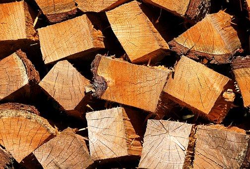 Stack Of Wood, Winter, Heat, Wood, Fireplace, Firewood