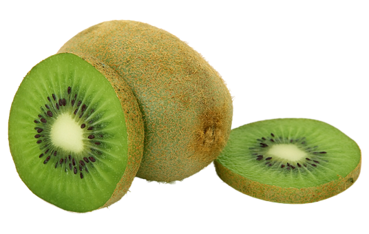 Fruits And Vegetables, Fruit, Kiwi, Green, Food