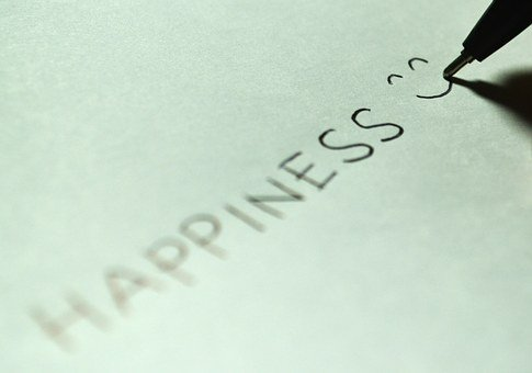 Happiness, Happy, Smile, Smiling, Glad, Write, Draw