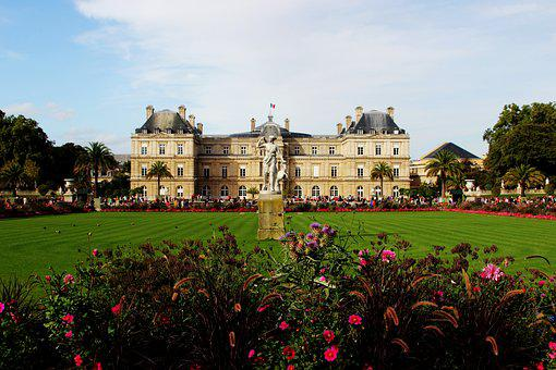 Exterior, Garden, Colorful, Green, Luxembourg, France