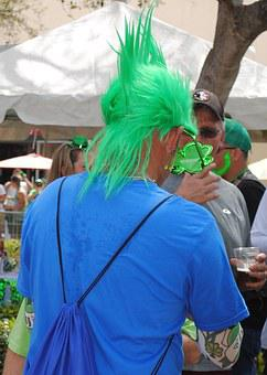 St Patrick's Day, Parade, Green, Ireland, Holiday