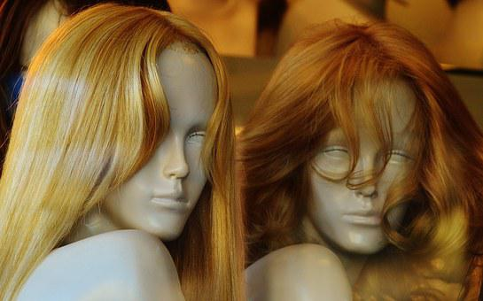 Mannequins, Wig, Hair, Blond