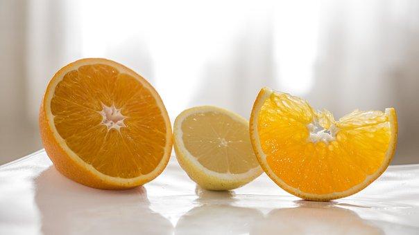 Orange, Lemon, Better Half, Half A Lemon, Acid