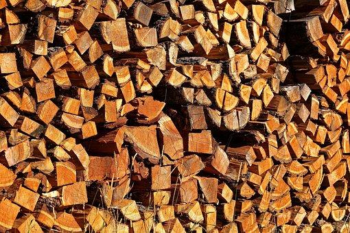 Holzstapel, Firewood, Combs Thread Cutting, Wood