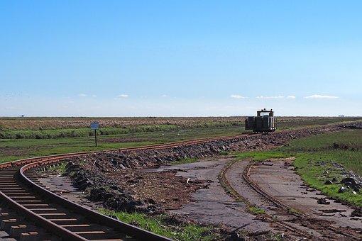 Island Railway, Lore Dam, Dagebüll, Oland, Langeneß