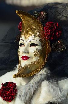 Carnival, Venice, Hallia Venezia, Mask, Costume