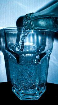 Water, Bottle, Glass, Drink, Mineral Water