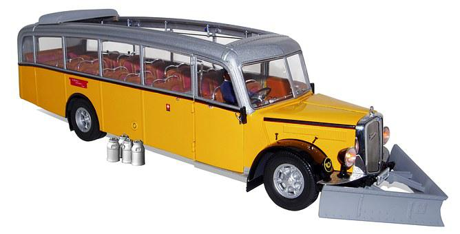 Acid, Type L4c, Alps Car 3 1951, Model Buses