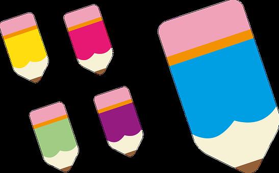 Pencil, Colored Pencil, Artists, Office, Paint