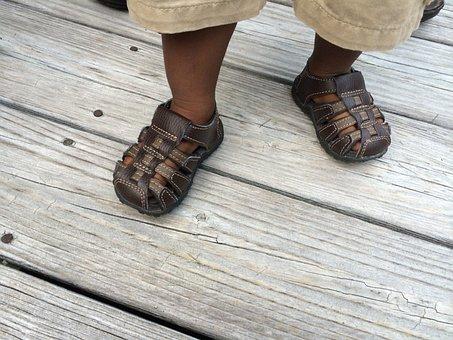 Baby, Shoes, Sandals, Footwear, Child, Toddler, Black