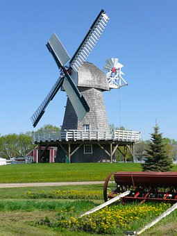 Windmill, Steinbach, Mennonite Heritage Village