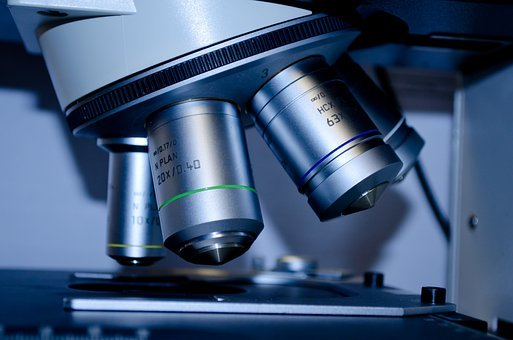 Microscope, Slide, Research, Close-up, Test, Experiment