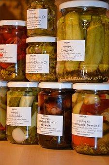 Preserving Jars, Pickles, Vegetables, Acid, Supplement