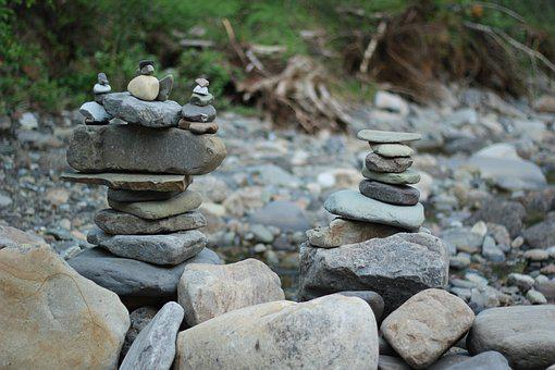 Rocks, Stones, Nature, Mountain, Water, Landscape
