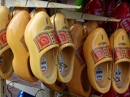 Shoes, Wood, Wooden Shoes, Netherlands, Holland