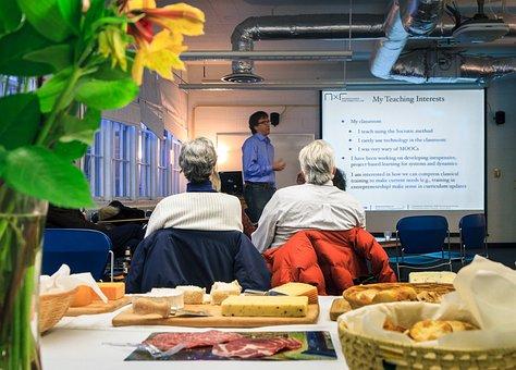 Meeting, Academic, University, Seminar Audience