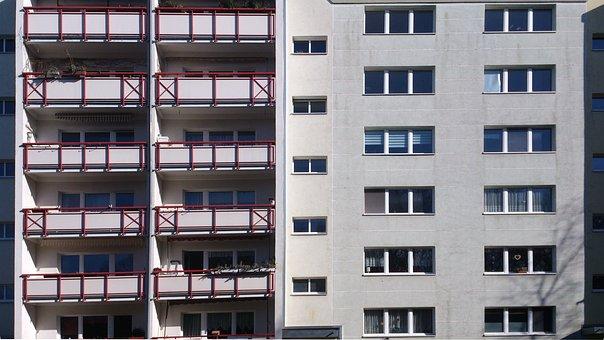 Wbs 70, Neubrandenburg, Home, Building, Architecture