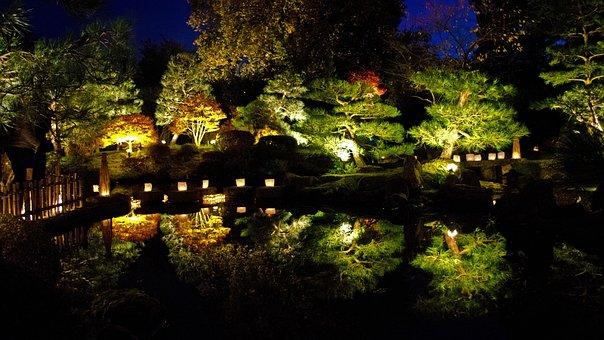 Germany, Brandenburg, At Schwielowsee, Japanese Garden