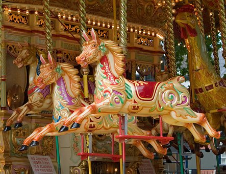 Carousel, Horse, Horses, Fair Ground, Merry-go-round