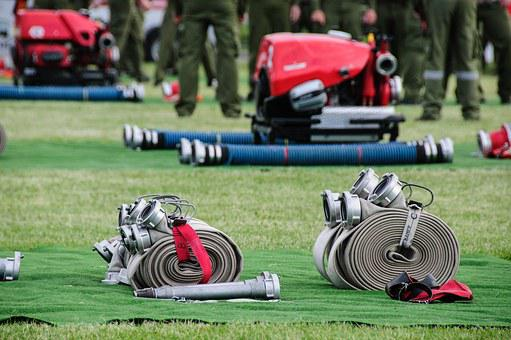 Device, Hose, Hoses, Fire, Competition, Competitions