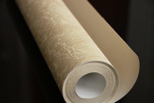 Cover, Decor, Design, Golden, Hang, Roll, Wallpaper