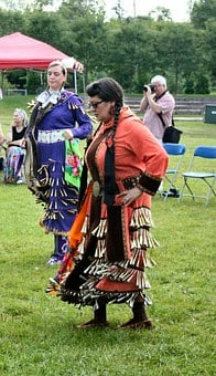 Dance, Native, Aboriginal, People, Ethnic, Woman