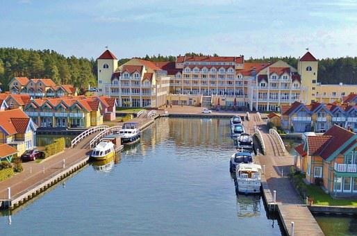 Port, Hotel, Tourism, Rheinsberg, Harbor Village