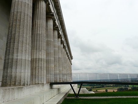Walhalla, Memorial, Hall Of The Fallen, Donaustauf
