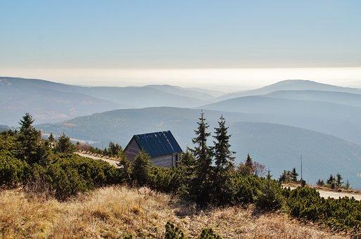 The Giant Mountains, Mountain Panorama, Mountains, View