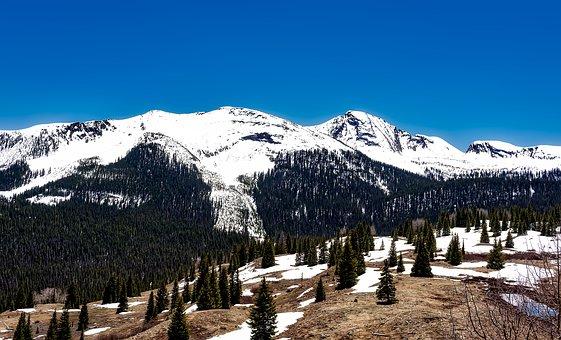 Colorado, Mountains, Snow, Landscape, Scenic, Nature