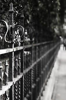 Fence, Iron, Grid, Metal, Old, Iron Construction