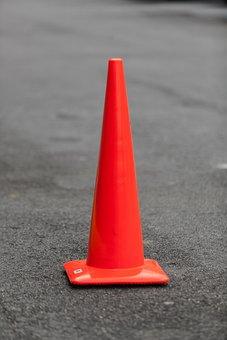 Orange, Cone, Road, Construction, Danger, Traffic